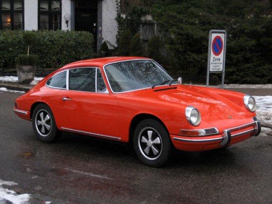Porsche 911 1968 Nysynet Inkl Afgift 100 Original Fed