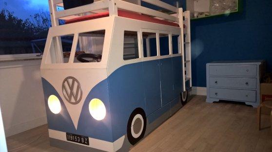 senge til salg Bus seng Solgt « VWnettet senge til salg
