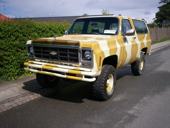 Chevrolet Blazer 4x4 1979 Slges Vwnettet
