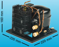 Kølekompressor danfoss