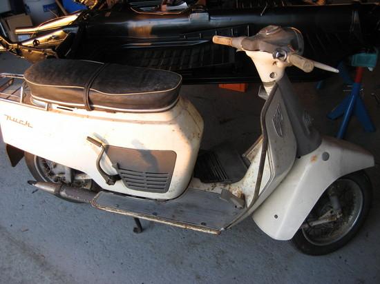 stelnummer på scooter