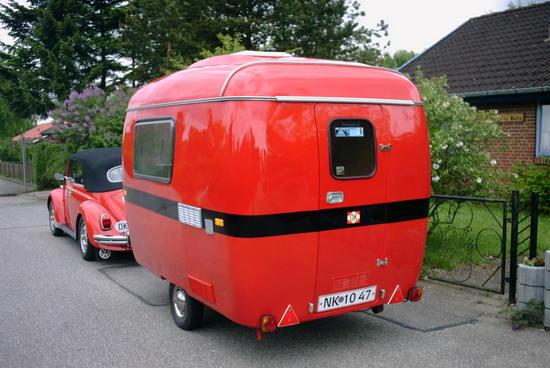 lille retro campingvogn
