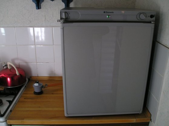 gaskøleskab sælges