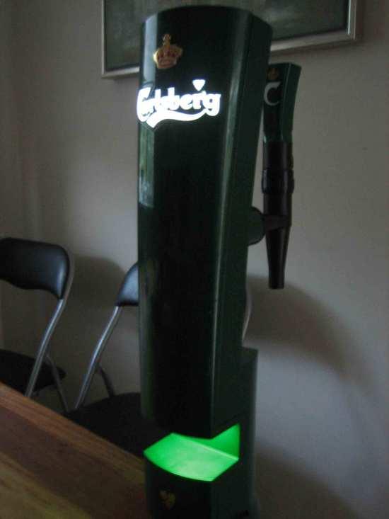 Carlsberg tappetårn