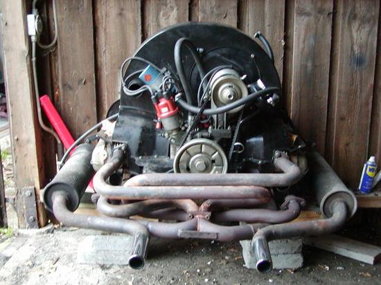 Boble motor til salgs