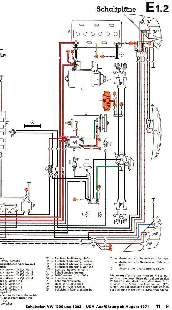 71 beetle engine diagram