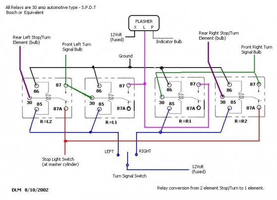 Motorcycle Headlight Relay Wiring Diagram Wiring Two